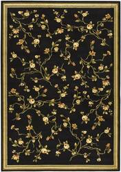Safavieh Lyndhurst LNH220A Black / Green Area Rug