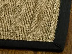 Safavieh Natural Fiber NF115C Natural / Black Area Rug