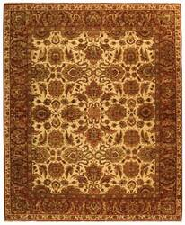 Safavieh Old World OW115G Ivory / Rust Area Rug
