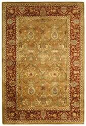 Safavieh Persian Legend PL519B Light Green / Rust Area Rug
