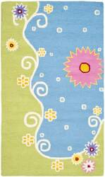 Safavieh Kids SFK383A Blue / Green Area Rug