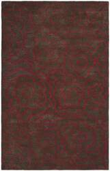 Safavieh Soho Soh812d Chocolate / Red Area Rug