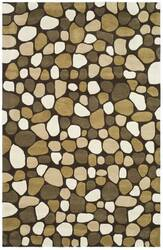 Safavieh Soho Soh814a Dark Brown / Multi Area Rug