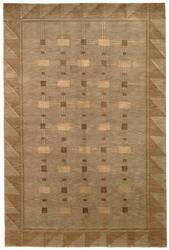 Safavieh Tibetan TB201A Green / Gold Area Rug