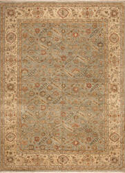 Samad Sovereign Empress Seafoam - Light Gold Area Rug