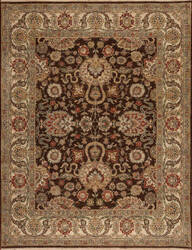 Samad Sovereign Charlemagne Chocolate - Ivory Area Rug