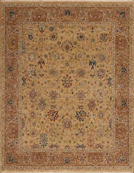 Samad Sovereign Alexander Wheat - Coffee Area Rug