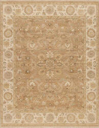Samad Caribbean Breeze Bermuda Coffee - Ivory Area Rug