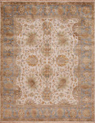 Samad Silver Screen Tracy Sand - Baby Blue Area Rug