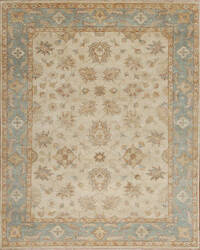 Samad Notting Hill Bayswater Ivory - Light Blue Area Rug