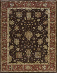 Samad Essence Dandelion Chocolate - Coral Area Rug