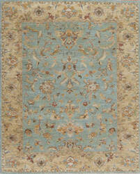 Samad Essence Thistle Aqua - Gold Area Rug