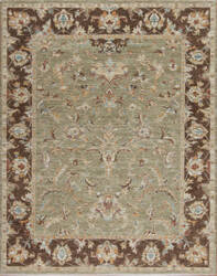 Samad Essence Thistle Fern - Teak Area Rug