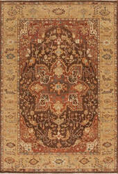 Samad International S-553 Brown - Gold Area Rug