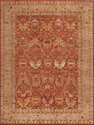 Samad International S-561 Rust - Brown Area Rug