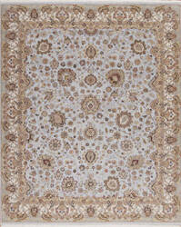Samad Cote D'Azur Toulon Baby Blue/Ivory Area Rug