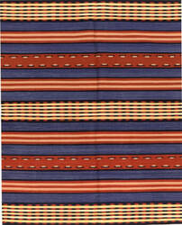 Samad Navajo TS-20 Denim Blue Area Rug