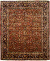 Shalom Brothers Cambridge Ca-1115 Red Area Rug