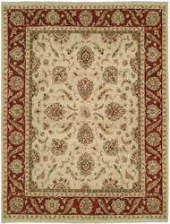 Shalom Brothers Royal Zeigler Rzm-Sl3 Rust/Beige Area Rug