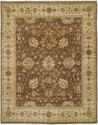 Shalom Brothers Royal Zeigler Rzm-Sl7 Brown/Brown Area Rug