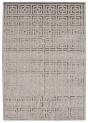 Shalom Brothers Broadway B-3a Ivory-Beige Silk Area Rug