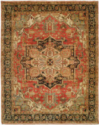 Shalom Brothers Jules Serapi Js-1035 Antique Wash Finish Area Rug