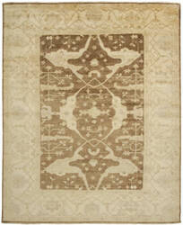 Shalom Brothers Oushak Ou-52 Antique Wash Finish Area Rug