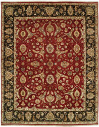 Shalom Brothers Royal Zeigler Rzm-Sl006 Red - Black Area Rug