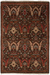 Shalom Brothers Tucson Tu-63 Dk Brown Area Rug