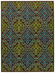 Shaw Mirabella Capri Brown 4700 Area Rug