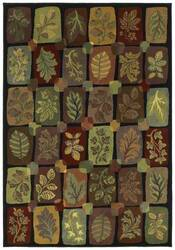 Shaw Phillip Crowe Timber Creek Autumn Grove onyx-00500 Area Rug