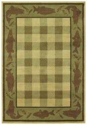 Shaw Phillip Crowe Timber Creek Lake House Beige-06100 Area Rug