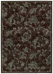Shaw KI Home Gallery Lovelines Brown 19700 Area Rug