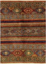 Solo Rugs Azeri  4'4'' x 5'9'' Rug