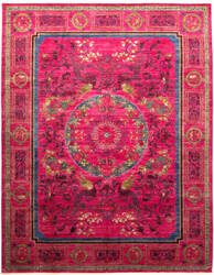 Solo Rugs Eclectic M1889-70  Area Rug