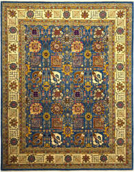 Solo Rugs Eclectic M1889-71  Area Rug