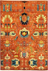 Solo Rugs Eclectic M1889-86  Area Rug