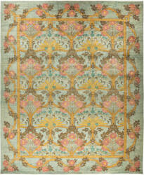 Solo Rugs Arts And Crafts M1890-368  Area Rug