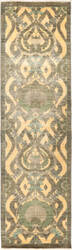 Solo Rugs Suzani  3'2'' x 11'4'' Runner Rug