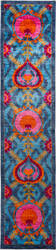 Solo Rugs Suzani  3' x 13'5'' Runner Rug
