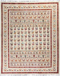 Solo Rugs Tribal M1898-235  Area Rug