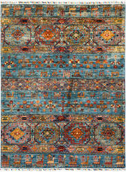 Solo Rugs Tribal M1898-258  Area Rug