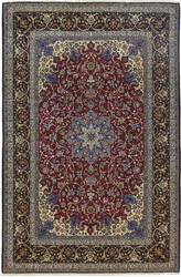 Solo Rugs Isfahan M6030-17878  Area Rug