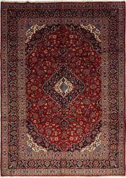 Solo Rugs Kashan M6085-22038  Area Rug