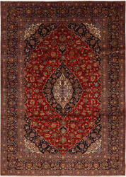 Solo Rugs Kashan M6085-22044  Area Rug