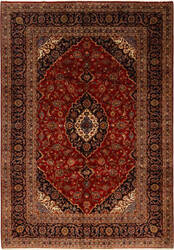Solo Rugs Kashan M6085-22122  Area Rug