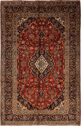 Solo Rugs Kashan M6085-22125  Area Rug