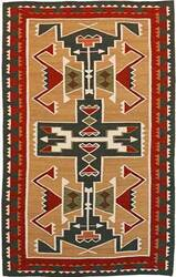 Southwest Looms Dreamcatcher Teec Nos Pos N-5B Tan Area Rug