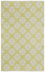 St. Croix Jacquard Cj01 Yellow Area Rug