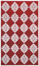 St. Croix Jacquard Cj02 Red Area Rug
